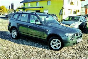 BMW X3 4X4 - GARANTIE 12 LUNI - 2.0 diesel - XENON - RATE FIXE avans 0%. - imagine 3