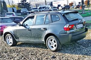 BMW X3 4X4 - GARANTIE 12 LUNI - 2.0 diesel - XENON - RATE FIXE avans 0%. - imagine 10