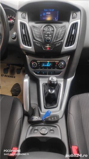 Ford Focus 1.6 tdci/titanium/navi/piele/sc incalzite - imagine 10