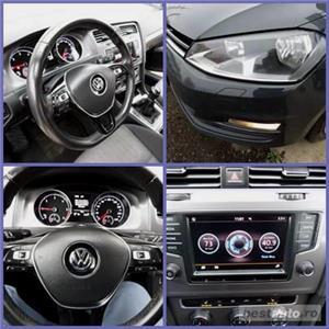 VW GOLF 7 = EURO 6  CASH / RATE FIXE SI EGALE / LIVRARE GRATUITA  / GARANTIE / BUY-BACK - imagine 11