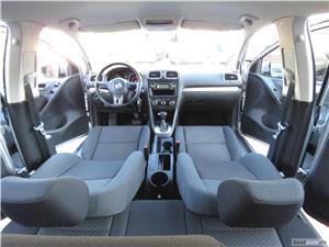 VW GOLF 6 = 1,4 TSI 122CP= CASH / RATE FIXE SI EGALE / LIVRARE GRATUITA  / GARANTIE / BUY-BACK - imagine 9