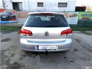VW GOLF 6 = 1,4 TSI 122CP= CASH / RATE FIXE SI EGALE / LIVRARE GRATUITA  / GARANTIE / BUY-BACK - imagine 8