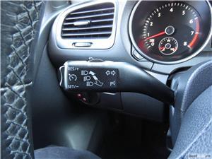 VW GOLF 6 = 1,4 TSI 122CP= CASH / RATE FIXE SI EGALE / LIVRARE GRATUITA  / GARANTIE / BUY-BACK - imagine 16