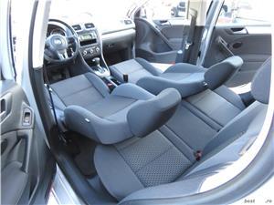 VW GOLF 6 = 1,4 TSI 122CP= CASH / RATE FIXE SI EGALE / LIVRARE GRATUITA  / GARANTIE / BUY-BACK - imagine 10