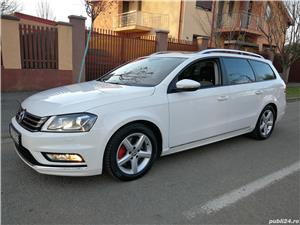 Vw-PASSAT-DEOSEBIT- R LINE-AN 2014-TRAPA PANORAMICA - imagine 1