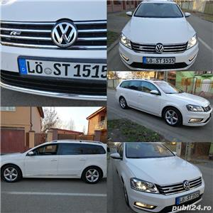 Vw-PASSAT-DEOSEBIT- R LINE-AN 2014-TRAPA PANORAMICA - imagine 5