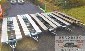 inchiriere remorca 750kg 1500kg 2000kg trailer platforma 1500kg 3500kg slep transport auto remorci - imagine 7
