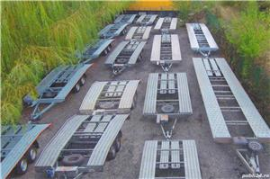 inchiriere remorca 750kg 1500kg 2000kg trailer platforma 1500kg 3500kg slep transport auto remorci - imagine 9