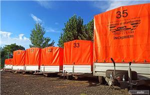 inchiriere remorca 750kg 1500kg 2000kg trailer platforma 1500kg 3500kg slep transport auto remorci - imagine 10