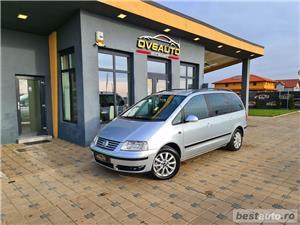 """VW SHARAN   7 LOCURI   LIVRARE GRATUITA/Garantie/Finantare/Buy Back VW SHARAN   7 LOCURI   LIVRARE GRATUITA/Garantie/Finantare/Buy Back 2004 , se pot verifica accidentele și km mașinii (apăsând butonul """"Verifică""""), cutie de viteză Manuala, Euro 4. Oferit de Persoana fizica."""