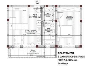 Apartament nou 2 camere la cheie - direct de la dezvoltator! - imagine 3