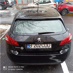 Peugeot 308 1,6 benzina, 125 CP, 2015, 54.600 km, ITP 18.01.2023, Fiscal - imagine 4
