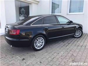 Audi A6 2.0 Diesel-automat-piele-navi mare-bose-audio. Audi A6 2007 2.0 S-line. - imagine 4