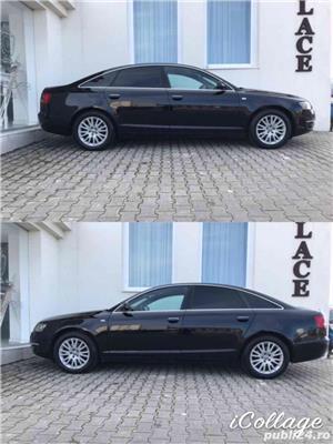 Audi A6 2.0 Diesel-automat-piele-navi mare-bose-audio. Audi A6 2007 2.0 S-line. - imagine 5