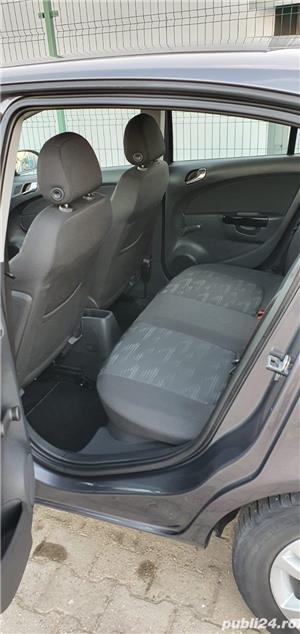 Opel Corsa d 1.3CDTI, 2011, 4 usi, Euro 5, Jante, 4490 Euro sau RATE FIXE. - imagine 6