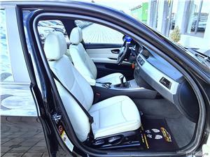 BMW SERIA 3   NAVIGATIE   TRAPA   INTERIOR PIELE ALBA   LIVRARE GRATUITA/Garantie/Finantare/Buy Back - imagine 16