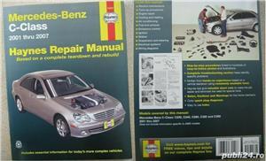 Manual reparatii auto Haynes Mercedes Benz: clasa A anii 1998-2004, C 2000-2007-2014 si E 2002-2010 - imagine 3