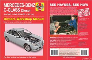 Manual reparatii auto Haynes Mercedes Benz: clasa A anii 1998-2004, C 2000-2007-2014 si E 2002-2010 - imagine 4