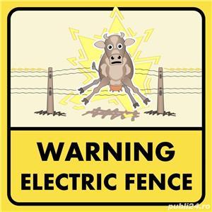 Gard electric 4 j cu 2ani  garantie ,12 km - imagine 2