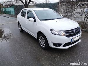 Dacia Logan 2016 benzina aspirat 1.2 Euro6 Laureate 75.000 km carte service tva  deductibil - imagine 3