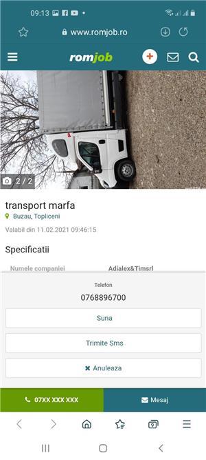Transport Marfa - imagine 2