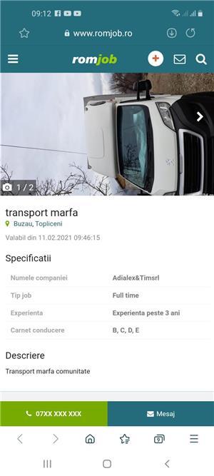 Transport Marfa - imagine 1