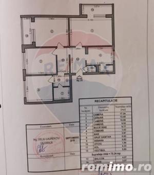 Apartament 4 camere de vânzare, cu centrala proprie 0% Comision - imagine 8