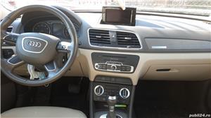 Audi Q3 2.0 TFSI Quattro S-tronic, 170CP, 4x4 cutie automata, far Xenon+lumini LED, trapa panoramica - imagine 4