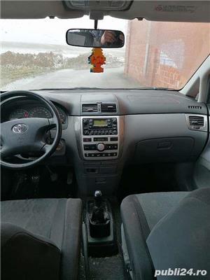 Toyota Avensis Verso 2.0 D4D 116 CP (nu Sharan, Alhambra, Espace, MPV ) diesel 7 locuri. - imagine 4
