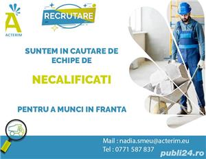 Angajam meseriasi in constructii/Santiere Franta - imagine 6