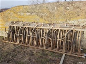 Front furajare , despartitoare frontale cu sistem de blocare pentru vaci - imagine 4