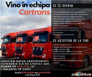 CARTRANS Romania  angajeaza SOFERI DE TIR PROFESIONISTI din toata tara  ! - imagine 1