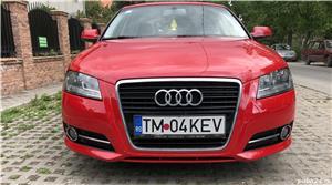 """Audi A3 1.2 TFSI Sportback Audi A3 1.2 TFSI Sportback 2011 , se pot verifica accidentele și km mașinii (apăsând butonul """"Verifică""""), cutie de viteză Manuala, Euro 5. Oferit de Persoana fizica."""