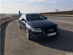Audi A6 S-line 2.0 TDI Bi-xenon, navi, piele, volan dreapta.  - imagine 2