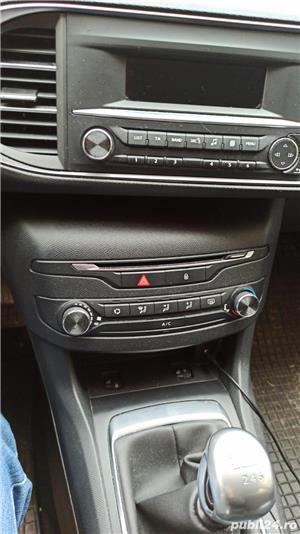 Peugeot 308 1,6 benzina, 125 CP, 2015, 54.600 km, ITP 18.01.2023, Fiscal - imagine 8