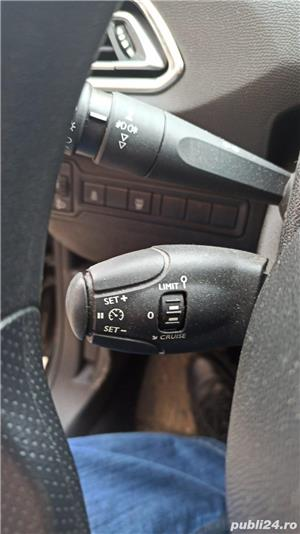 Peugeot 308 1,6 benzina, 125 CP, 2015, 54.600 km, ITP 18.01.2023, Fiscal - imagine 7