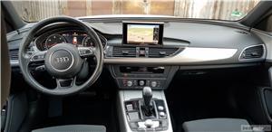 Audi A6 C7 2018.02 S Line 190CP Navi mare Line asist Padele Touchpad Plafon negru - imagine 10