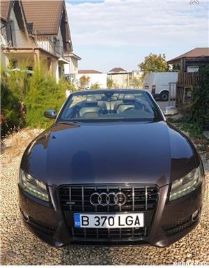 Audi A5 - Cabrio - Quattro, S-line, 2010, 145.000 KM - imagine 5