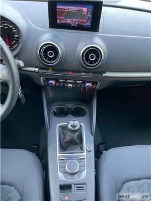 Audi A3 Sportback 125000 Km 1.6 Tdi 105 Cp Navi Carte Serice la Audi - imagine 9