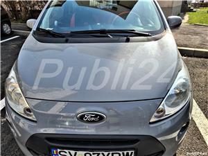 Ford ka- Model nou-,,1.2i Duratec , stare impecabila, putin folosita--  - imagine 3