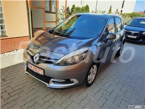 """Renault Scenic 1.5 DCI, 2014, climatronic, Navi color Renault Scenic 1.5 DCI, 2014, climatronic, Navi color 2014 , se pot verifica accidentele și km mașinii (apăsând butonul """"Verifică""""), cutie de viteză Manuala, Euro 5. Oferit de Persoana fizica."""