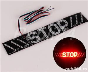 stop frana,semnalizare stanga-dreapta pentru scuter sau alte autovehicule pe 12V - imagine 3