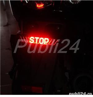 stop frana,semnalizare stanga-dreapta pentru scuter sau alte autovehicule pe 12V - imagine 2
