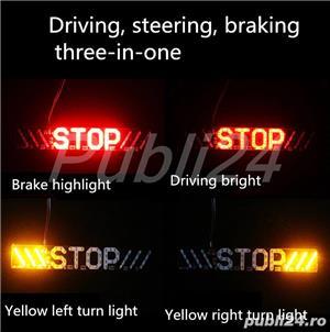 stop frana,semnalizare stanga-dreapta pentru scuter sau alte autovehicule pe 12V - imagine 1