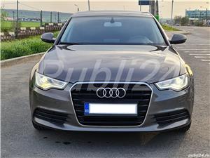 Audi A6 impecabil  2012 / 2.0 TDI 177 cp full options neon- camera- piele inmatri RO.2020 - imagine 1
