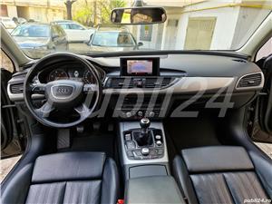 Audi A6 impecabil  2012 / 2.0 TDI 177 cp full options neon- camera- piele inmatri RO.2020 - imagine 2