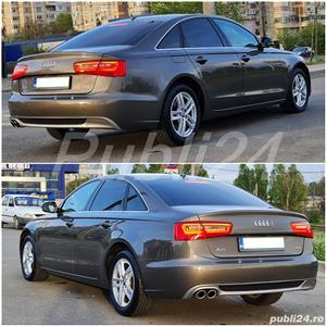 Audi A6 impecabil  2012 / 2.0 TDI 177 cp full options neon- camera- piele inmatri RO.2020 - imagine 6