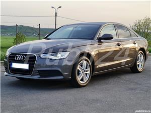 Audi A6 impecabil  2012 / 2.0 TDI 177 cp full options neon- camera- piele inmatri RO.2020 - imagine 5