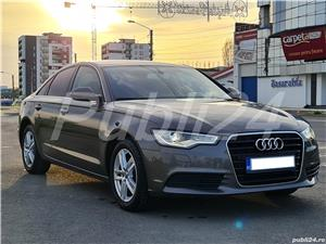 Audi A6 impecabil  2012 / 2.0 TDI 177 cp full options neon- camera- piele inmatri RO.2020 - imagine 8