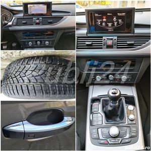 Audi A6 impecabil  2012 / 2.0 TDI 177 cp full options neon- camera- piele inmatri RO.2020 - imagine 4